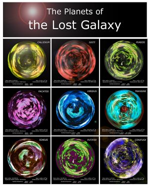 The Lost Galaxy